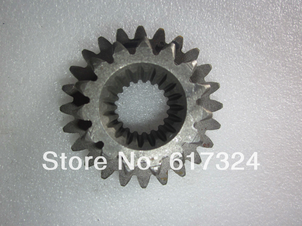YTO 404 tractor, the PTO driving gear, part number:M300.37C.134, 15 teeth / 24 teeth yto 404 tractor the seat bearing differential rh part number e300 38 177
