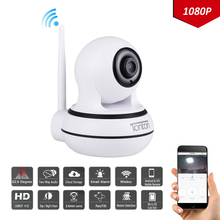 Tonton Baby Monitor 1080P WiFi IP Camera Video Home Security Wireless Cam Two Way Audio Onvif P2P Night Vision CCTV Pan/Tile Cam