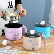 Electric cooker, stainless steel multifunctional electric cooker cup, student dormitory, small pot
