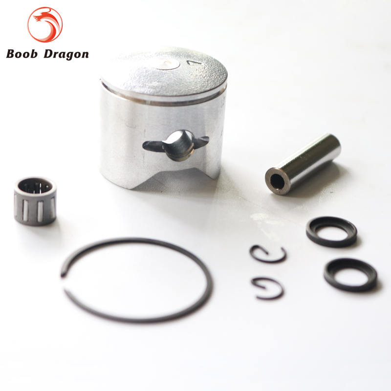 34mm Baja 26cc 27.5cc piston set Piston Ring Pin Washer Bearing for Gasoline zenoah engine CY Free Shipping straight row 29cc piston for high speed 29cc gasoline engine zenoah parts rc boat