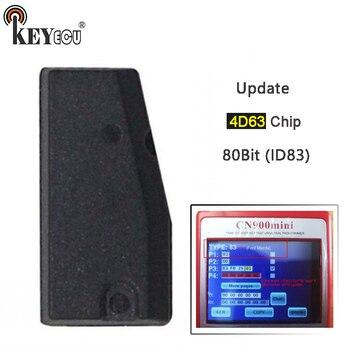 KEYECU 10x for Mazda, for Ford 2018 Update 4D63 80Bit ID83 Car Key Chip Transponder Chip Aftermarket Support All Key Lost