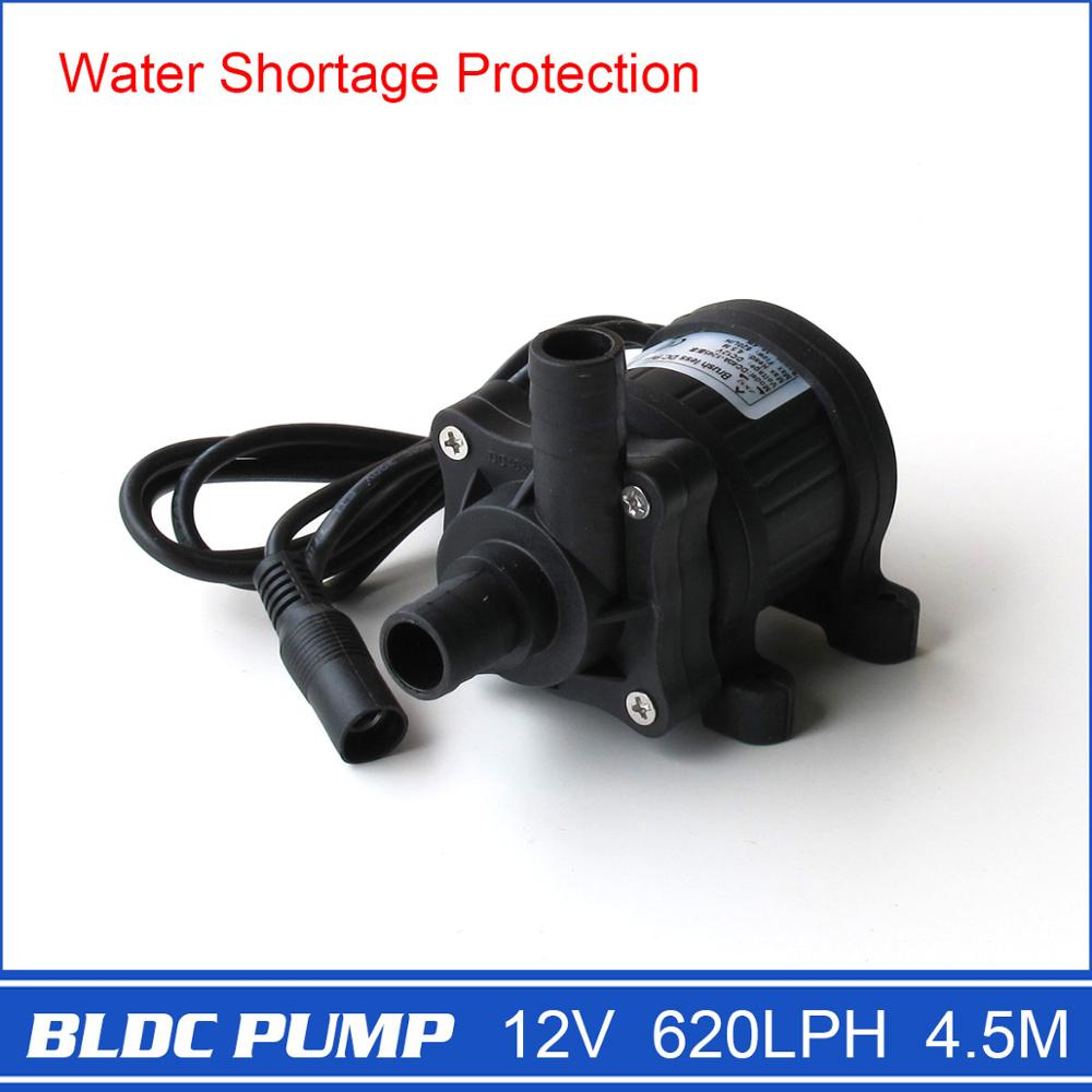 DC Water Pump 12V DC40A-1245, for Garden Fountain, Music Fountain, Swimming Pool, Submersible, 620L/H, 4M, Maintenance free