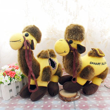ALPACA CAMEL lovely doll plush toys creative female doll doll Home Furnishing Jushi birthday gift bag mail