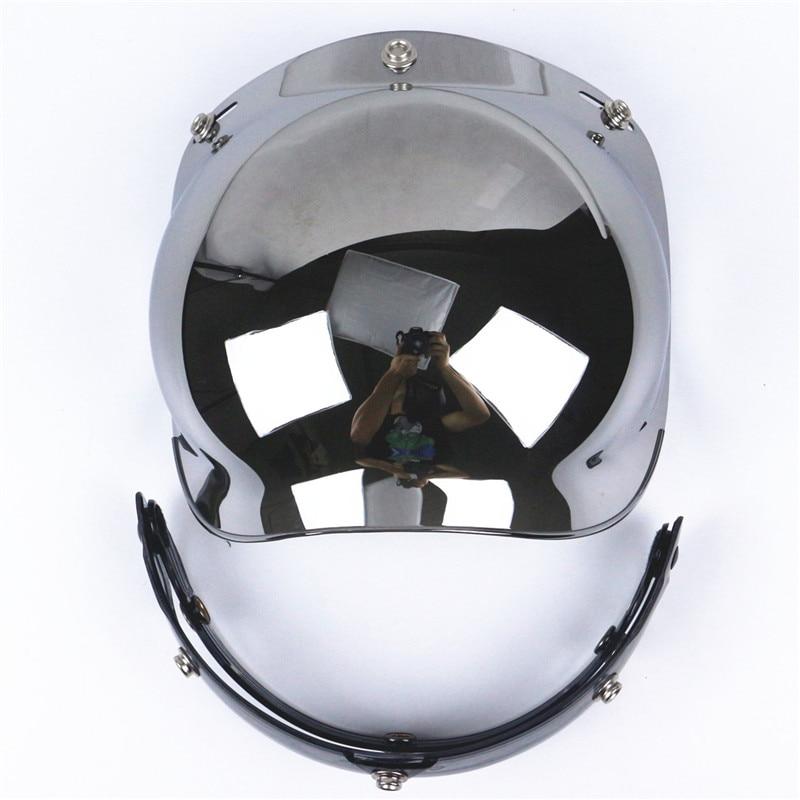 Top qualità del motociclo parabrezza per casco per harley style casco jet casco stile dell'annata bolla visor Protezione UV 400