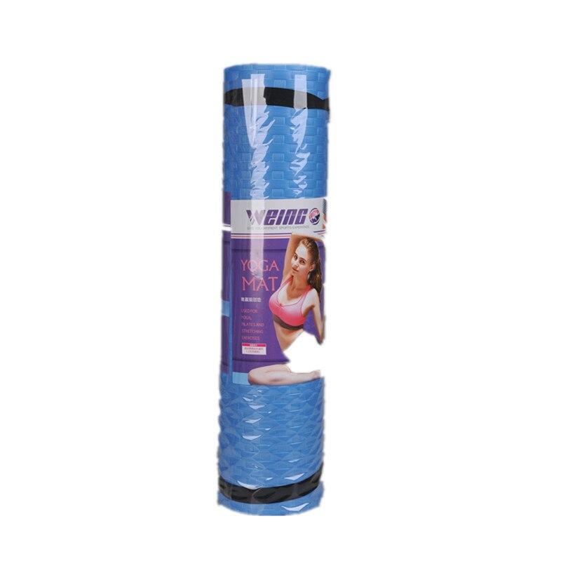 <+>  WEING TPE 6 мм TPE нескользящие коврики для йоги Fitness 3 Color Gym Упражнение спортивные коврики P ①