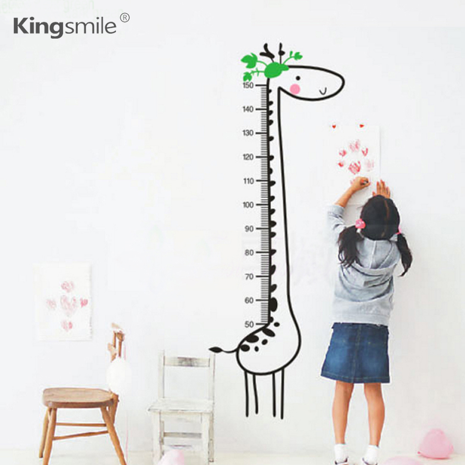 Giraffe growth chart height measure wall stickers for kids rooms giraffe growth chart height measure wall stickers for kids rooms animal poster sticker children bedroom decoration size 57x156cm in wall stickers from home geenschuldenfo Image collections