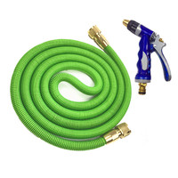 25 75FT Expandable Magic Flexible Garden Water Hose For Car Hose Pipe Plastic Hoses garden set To Watering With Spray Gun