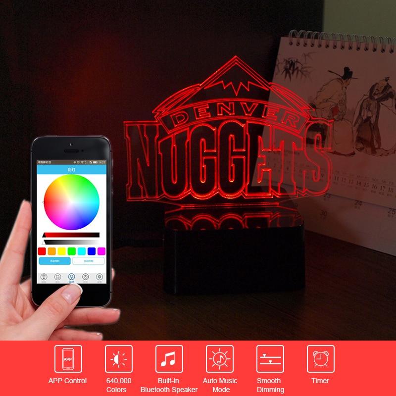 ФОТО Creative Gift Nuggets Music Lampara USB Bluetooth Speaker LED Touch Table Lamp Colorful Nightlight Baby Sleep Light Home Decor