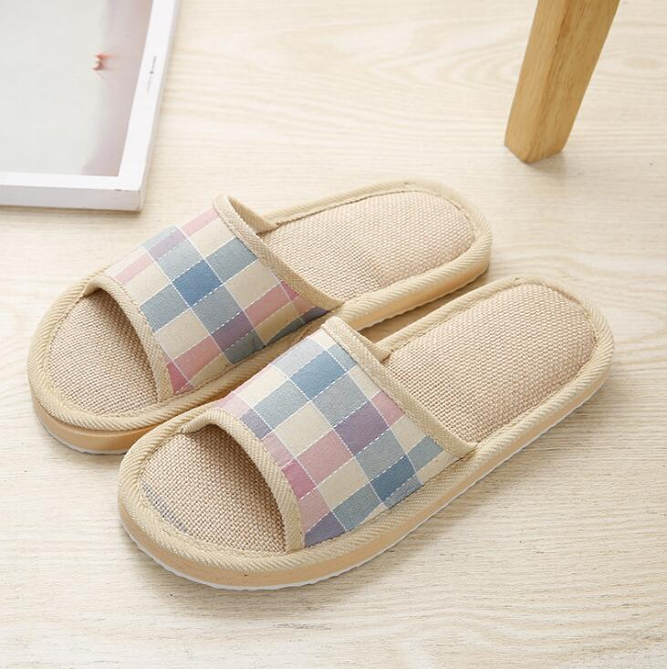 2019 Men Slippers NV87 88 Slippers Khaki Blue Cotton Slippers For Men Shoes High Quality Home