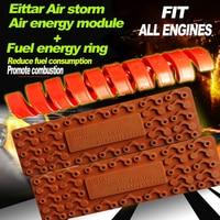 Mazda ALL 3 ~ 12 실린더 엔진 공기 에너지 모듈 에너지 링 연료 절약 카본 카 스타일링 공기 흡입 시스템 감소