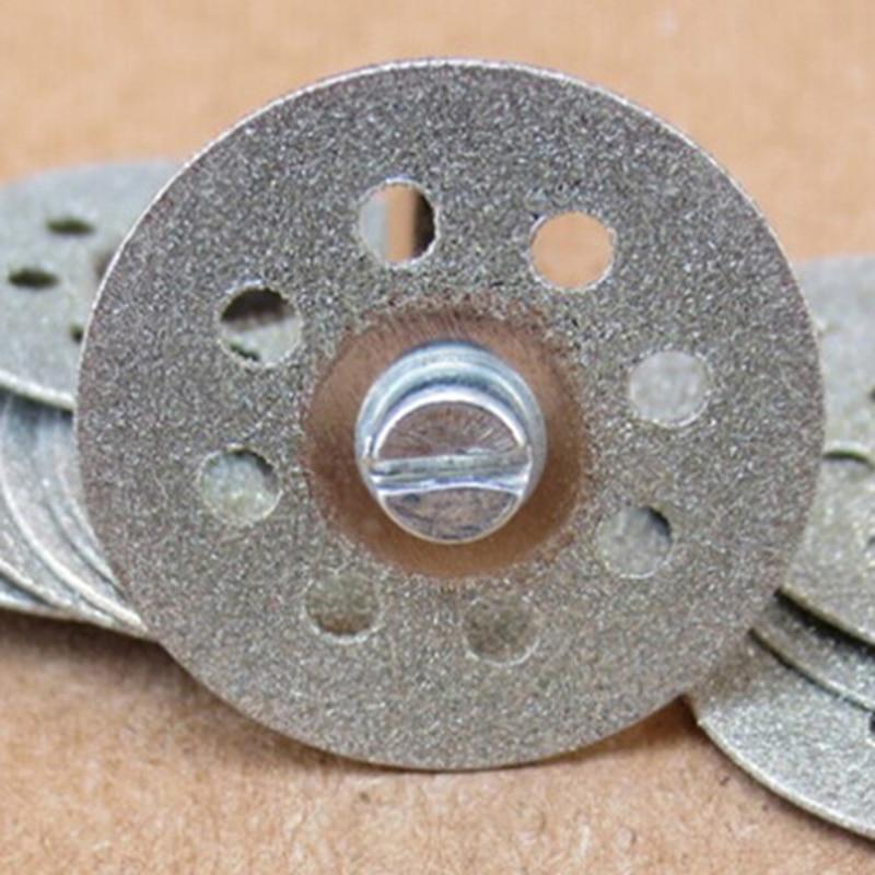 5 pc 22mm diamant disque de coupe de roue Dremel Rotary Tool - Outils abrasifs - Photo 3