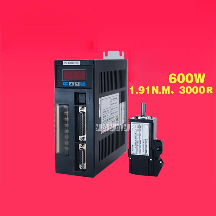 RH60ST-M01930 600W Servo Motor Driver Set 110V/220V 1.91N.M 3000r/min 60*60mm Single Phase AC Servo Motor+Drive Kit Hot Selling цена