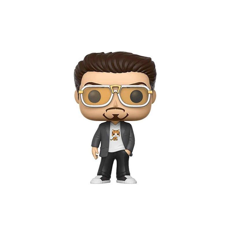 Funko pop Marvel Мстители: Endgame Железный человек TONY STARK 226 # ПВХ фигурка Сборная модель игрушки для детей Рождественский подарок