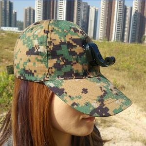 Image 2 - Accessories Sun Hat Headband Strp Cap and Base for Gopro Hero7 6 5 4 3 Xiaomi yi 4K Mijia SJCAM SJ4000 Sj5000 SJ6 EKEN H9 Camera