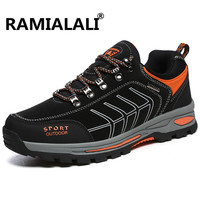 Ramialali Man Hiking Shoes Climbing Shoes Breathable Sport Mountain Hunting Athletic Outdoor Camouflage Shoes Men Sneakers