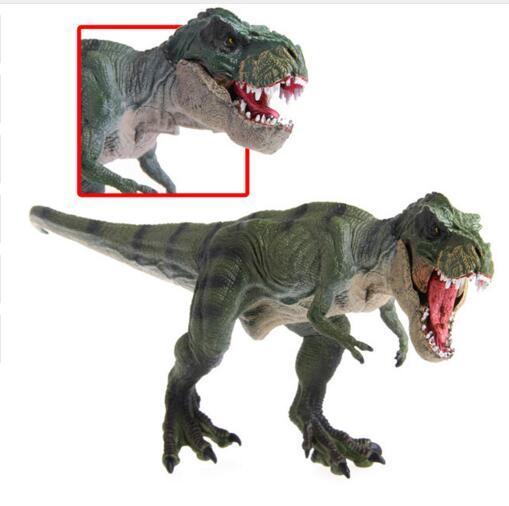 חדש יורה העולם פרק טירנוזאורוס רקס דינוזאור פלסטיק צעצוע דגם ילדים מתנות רובוט