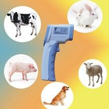 Best Buy Non-Contact Digital Laser Temperature Gun IR Infrared Thermometer Temperature Laser Gun Device  for Animal Big Pets