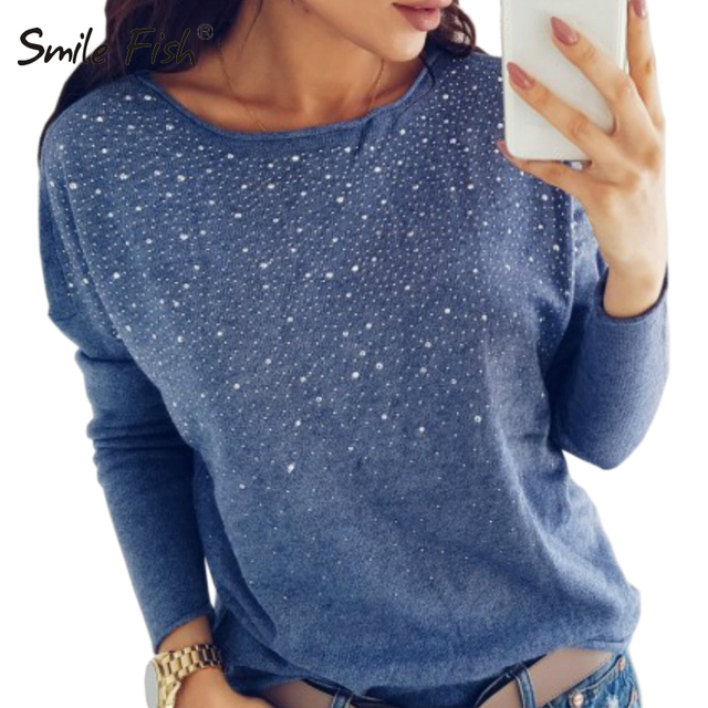 Diamonds Print Blouse Clubwear Outfit Autumn Pullovers Tops Femme Femininas  Blusa Solid Winter Blouses Women Sexy