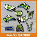Customized Team Graphics & 3M Backgrounds Decals Stickers KX KX125 KX250 03 04 05 06 07 08 Motocross Enduro Supermoto