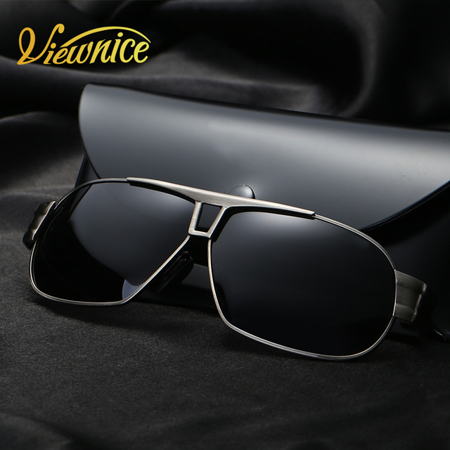 New Pilot style Driver Sunglasses Men Gray Wrap Oculos de Sol Feminino Polarized lens sunglasses brand Male Eyeswear Tennis