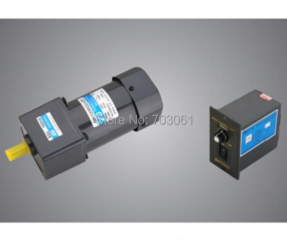 120W velocity modulation motors AC speed control gear motors AC gear motors ratio 100:1