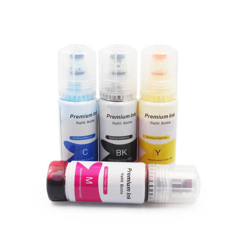 101 001 T03Y Tinta Isi Ulang Kit Untuk Epson L4150 L4160 L6160 L6170 L6190 Tinta Pigment dan Pewarna Tinta 4150 4160 6160 6170 6190 Tinta Printer