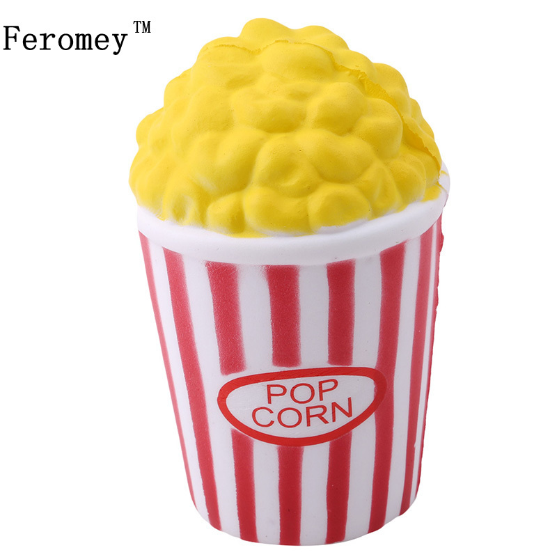 Funny Creative font b Toys b font Squeeze Popcorn Cup Squishy Slow Rising Decompression Easter font