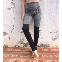 2017 Summer Women's Leggings Fitness High Waist Elastic Women Patchwork Pant Trousers Leggings Workout Legging Pants
