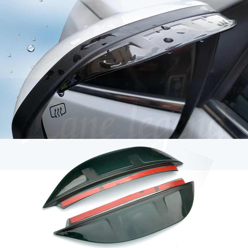 צד רוח חלון deflectors visor לרכב לשמשה windows אביזרי עבור טויוטה rav4 rav 4 2014 2015 2016 2017