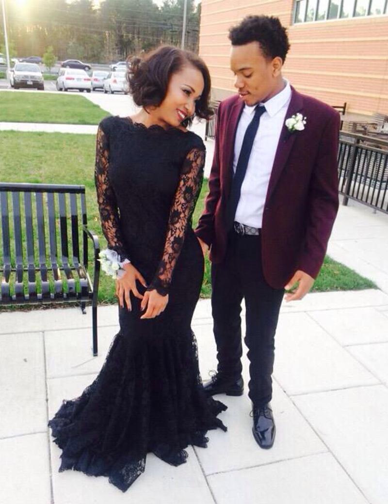 Black Tuxedo Prom Dress_Prom Dresses_dressesss