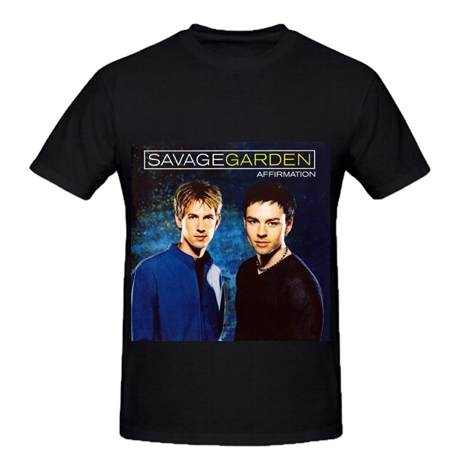 GILDAN Savage Garden Affirmation Rock Album Cover Mens Crew Neck Art  Shirts(China (Mainland
