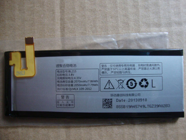 ALLCCX high quality mobile phone <font><b>battery</b></font> BL215 for <font><b>Lenovo</b></font> VIBE X <font><b>S960</b></font> S968T with excellnt quality and best price image