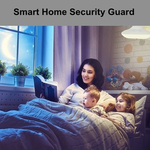 Image 5 - Luz LED 3MP inalámbrica panorámica seguridad del hogar WiFi CCTV Cámara EC69 bombilla cámara ip para lámpara 360 grados seguridad del hogar antirrobo