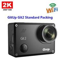 Original GitUp Git2 Standard Packing 2K 1080p 60fps Full HD For Sony IMX206 16MP Sensor Support G-Sensor Wifi Sports Camera(China (Mainland))