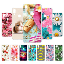 3D DIY Phone Case for Meizu Note 9 Case Note9 Soft Silicone TPU Back Cover For Meizu M9 Note Case M9Note 6.2 inch M 9 Note цена