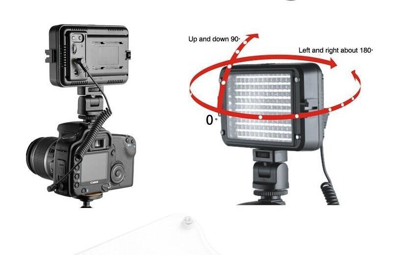 HOT! Viltrox LL-162VT LED Adjustable Color Temperature for Viltrox LL-162VT LED Adjustable Color Temperature new arrival viltrox ll 126vt led adjustable brightness flashing led 4 5w for digital video camcorders cameras