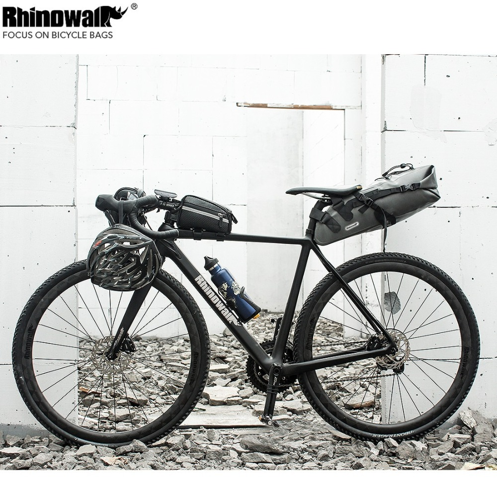 RHINOWALK Bicycle Bike Saddle Bags 10L High Capacity Tail Bag Prevent Rainwater MTB Road Cycling Travel