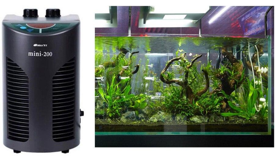 1 pièce MINI refroidisseur pour aquarium frais marin RESUN réfrigérateur à température constante