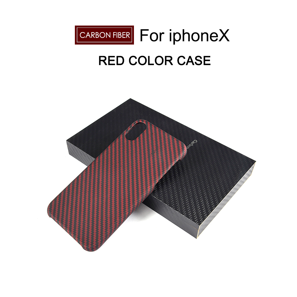 Real Carbon Fiber Cell Phone case for Iphone X 7 7Plus 4 7 5 5 inch