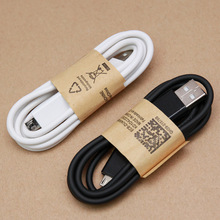1M White&Black Micro USB Data Sync Charger Cable Cord wire for Samsung Galaxy S7 S6 Edge Note 2 4 5 LG HTC Meizu Android Phone