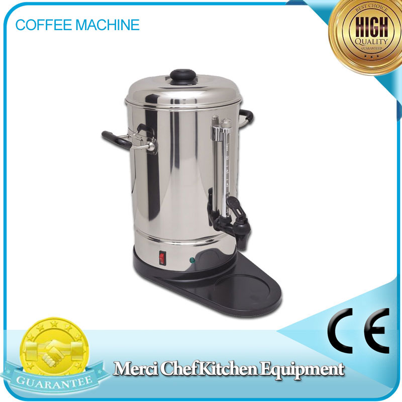 Commercial Household Coffee Machine Machine Stainless Steel 6L Coffee Maker for party use Semi-automatic machine cukyi household electric multi function cooker 220v stainless steel colorful stew cook steam machine 5 in 1