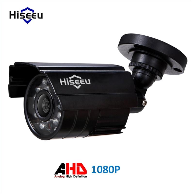Hiseeu Metal Case AHD Analog High Definition Metal Camera AHDM 1080P AHD CCTV Camera Security Outdoor wave soundtouch