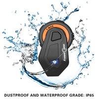 Freedconn T MAX Motorcycle Helmet Bluetooth Headset Intercom 8 Riders 1500M Group Intercom BT Interphone FM