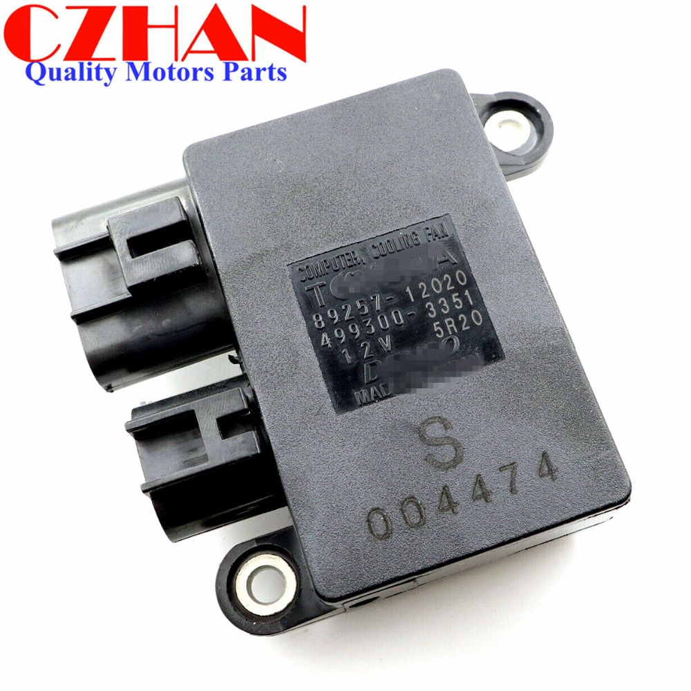 New For 2009-2013 Toyota Corolla 1.8L 2.4L Cooling Fan Control Unit Module