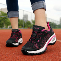 Women's Casual Sport Shoes Platform Fashion Brand Air Cushion Breathable Comfort Sneakers Ladies Footwear Woman Tenis Feminino