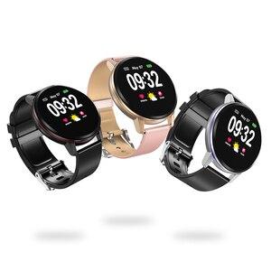 Image 5 - חכם צמיד ליגע IP67 עמיד למים כושר שעון Bluetooth חיבור אנדרואיד Ios לחץ דם צג מד צעדים צמיד