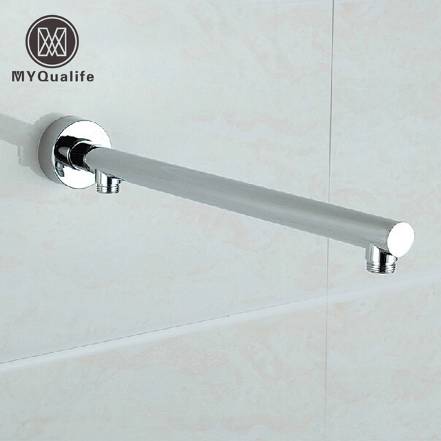 Newly Free Shipping Wall Mounted Brass Shower Arm G1/2 Shower Head Fixed  Pole