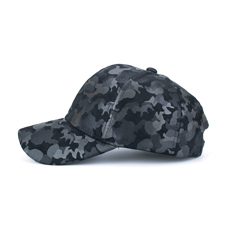 418b61ec477 AKIZON Wholesale PU Fitted Hat Baseball Cap Casual Camouflage Dot ...