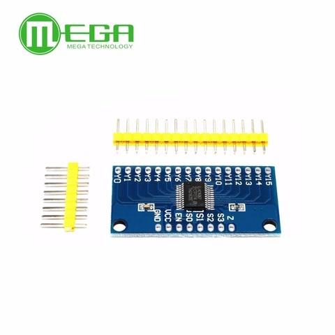 10PCS Smart Electronics CD74HC4067 16-Channel Analog Digital Multiplexer Board Module Lahore