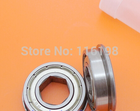 FR8-2Z FR8Z FR8 inch miniature bearing with inner 6 angle 12.7*28.575*7.938mm ball bearing 1/2